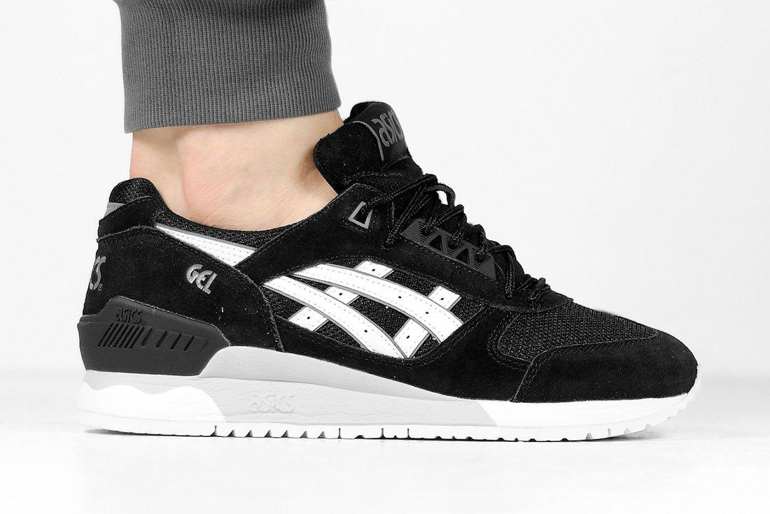 Asics Gel Respector Core Plus Black White4
