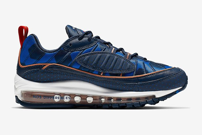 Nike Air Max 98 Polka Dot Ci9105 400 Release Date Medial