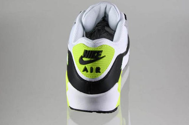 Nike Air Max 90 Black White Medium Grey Volt 4