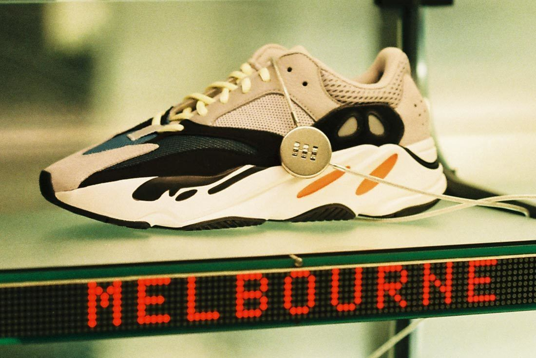Melbourne Yeezy Wave Runner 700 Launch 40 Side
