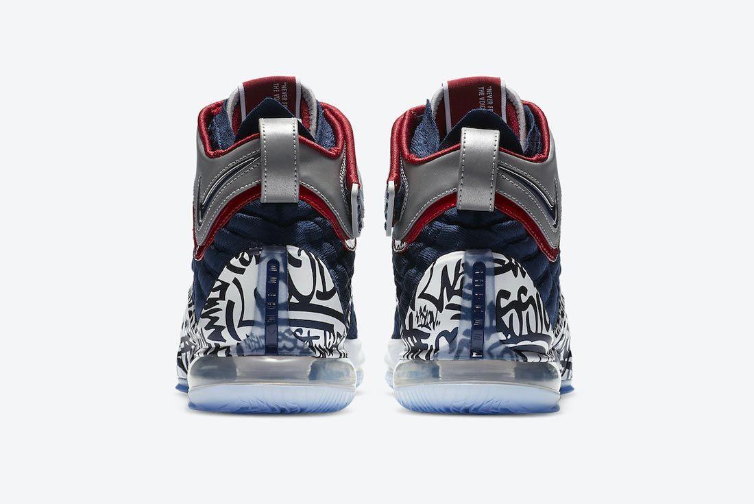 Nike LeBron 17 'Graffiti Remix'