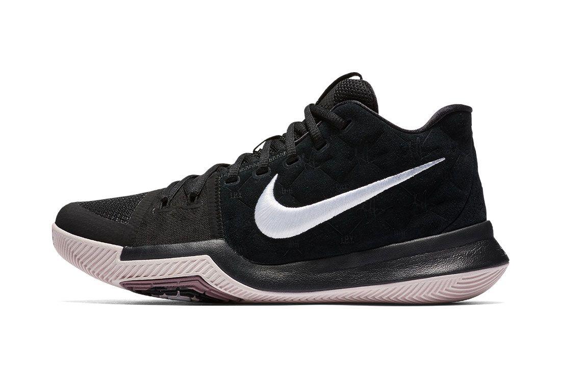 Nike Kyrie 3 Blackwhite 1