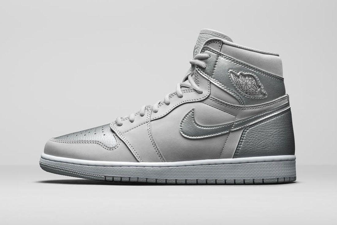 Air Jordan 1 'Metallic Silver'