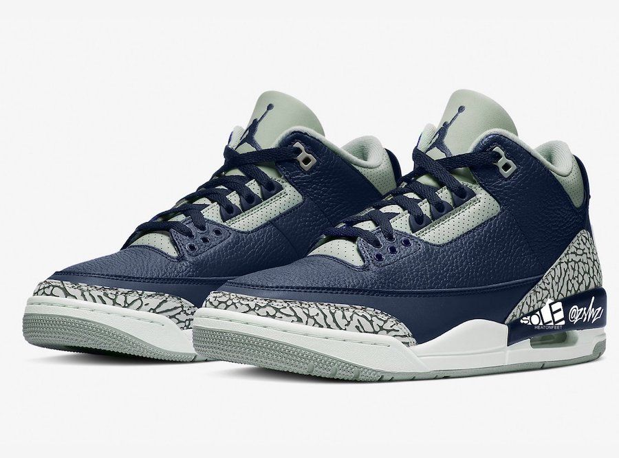 Air Jordan 3 'Midnight Navy'