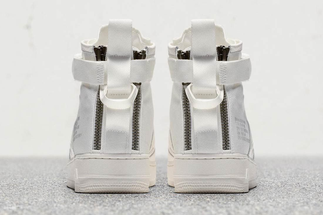 Nike Sf Air Force 1 Triple Ivory 6