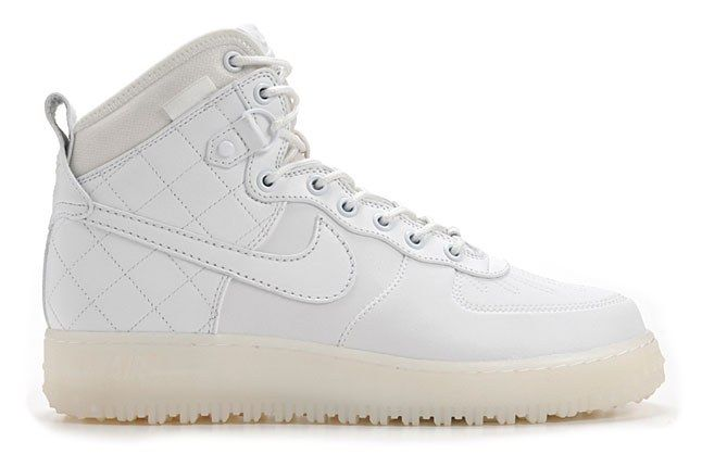 Nike Air Force 1 Duckboot White 1
