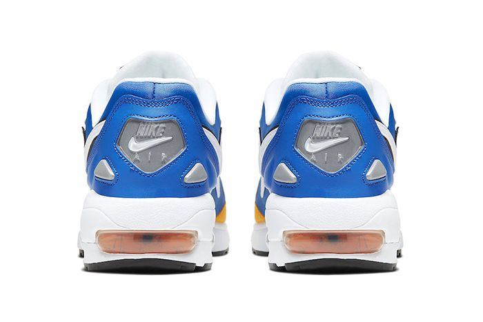 Nike Air Max2 Light Windbreaker Royal Maize Bv0987 102 Release Date Heel