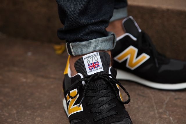New Balance 670 Black Yellow Pack 6
