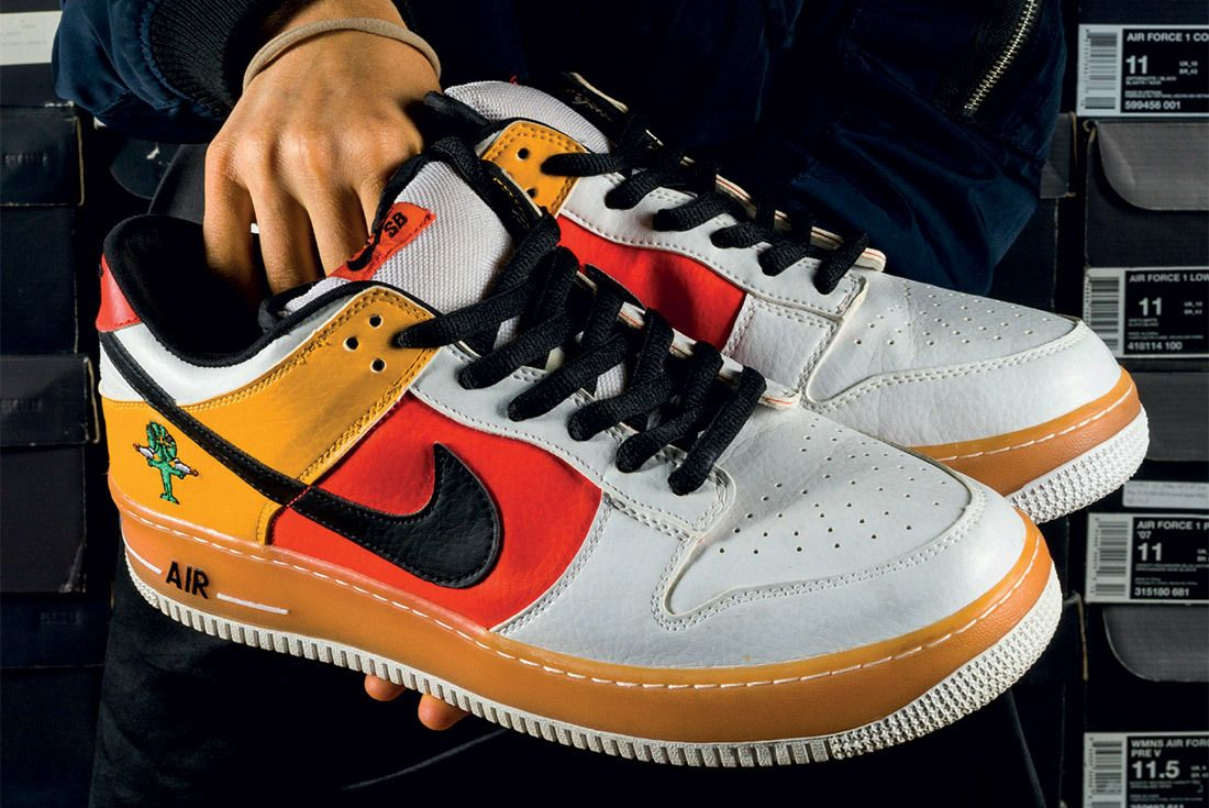 The Chicks With Kicks Sneaker Freaker Interview Nike Air Force 1 X Dunk SB Rayguns