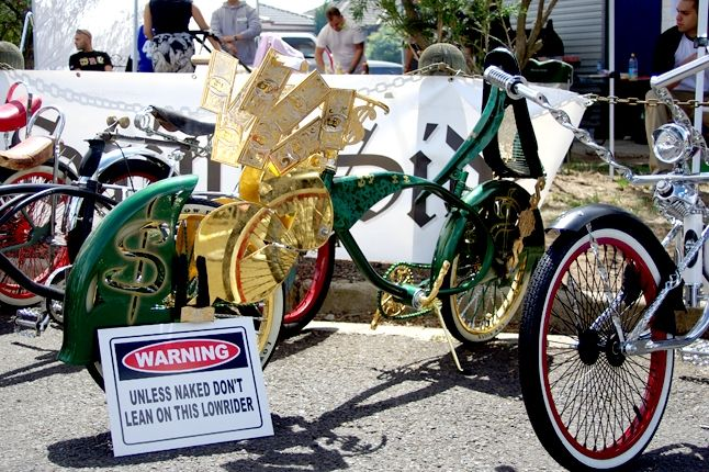 Saint Side Bike Show 2013 Orange Money Lowlow 1