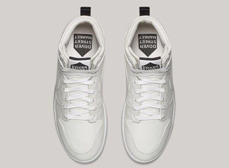 Dover Street Market Nike Dunk High Lux White 2