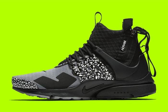 Acronym X Nike Air Presto 2019