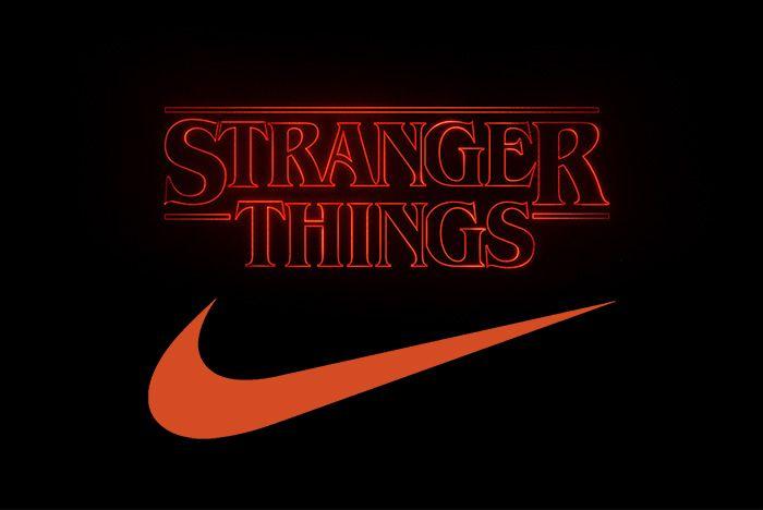 Stranger Things Nike Colab
