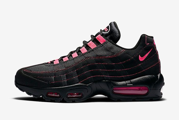 Nike Air Max 95 Black Pink Cu1930 066 Lateral