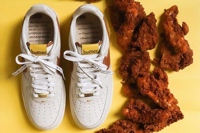 Bespoke X Butter Nike Air Fried 1 4