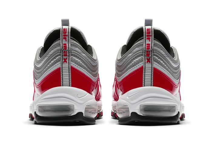 Nike Air Max 97 Silver Red 3