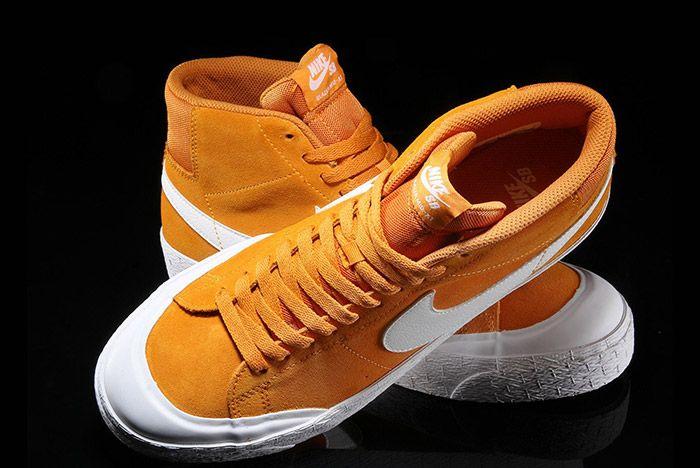 Nike Sb Blazer Circuit Orange 3