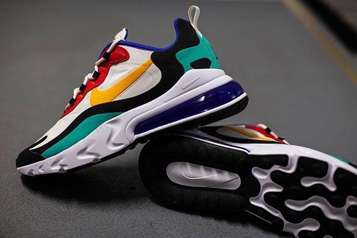 Nike Air Max 270 React Ao4971 002 2 Pair