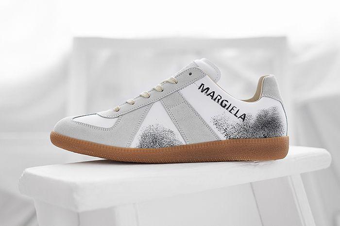 End Maison Margiela Replica Sneaker Graffiti Release Date Lateral