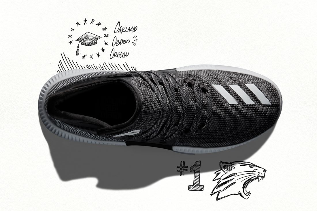 Adidas Dame 3 Wasatch Front 3