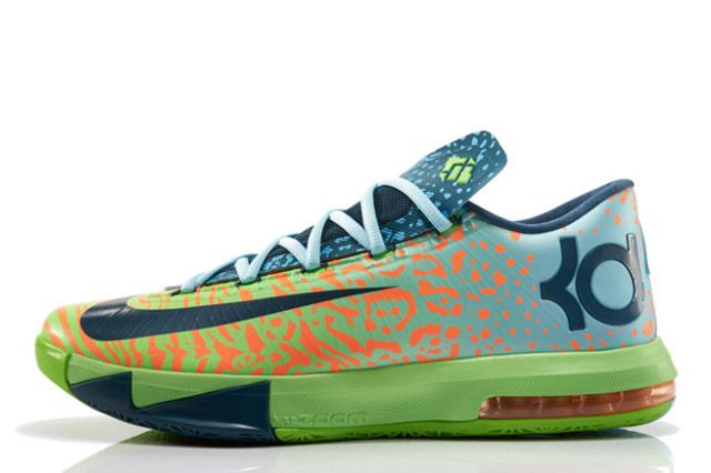 Nike Kd Vi Liger Sideview