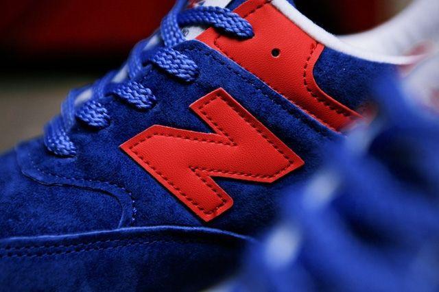 New Balance Wmns 576 Blue Red 11