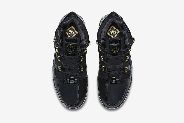 Nike Zoom Lebron 3 Black Gold 2018 Retro 4