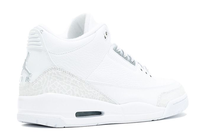 Air Jordan 3 Silver Anniversary Triple White Sneaker Freaker 4