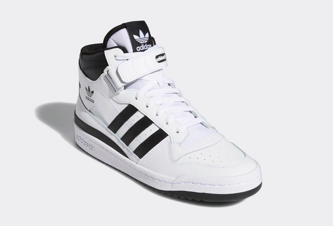 adidas Forum High White/Black