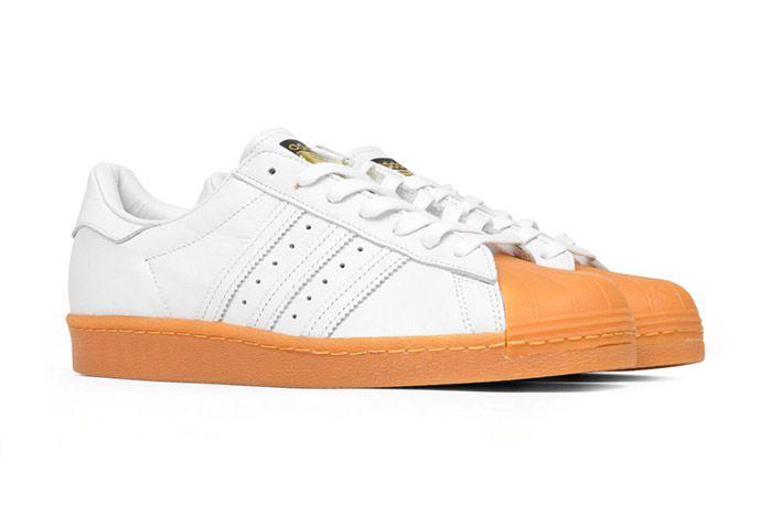 Adidas Originals Superstar 80 S Dlx White Gum 7