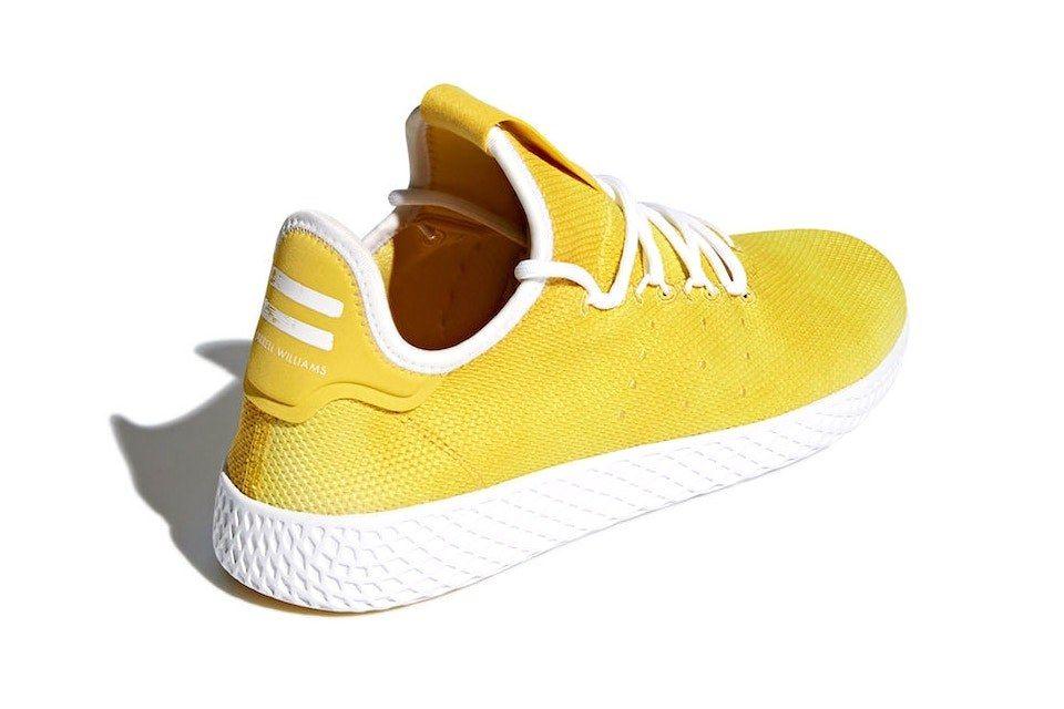 3 Pharrell Adidas Originals Tennis Hu Yellow Release Date