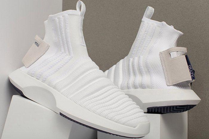 22 Adidas Crazy 1 Adv Sock Primeknit Cq1012 Available Now 3