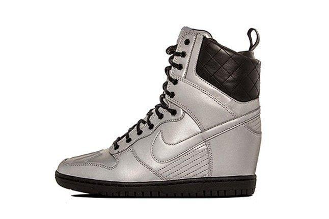 Nike Dunk Sky Hi Sneakerboot Prm Reflective Silver 1
