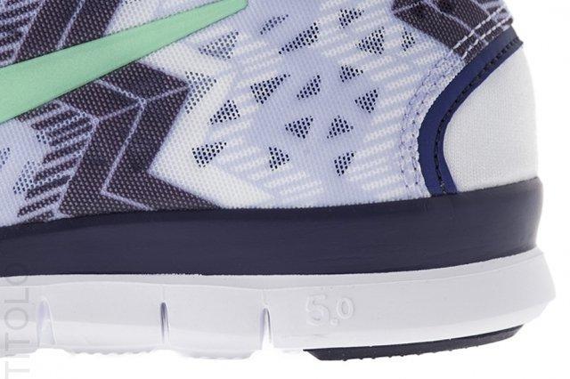 Nike Free Tr Fit Volt Frost Heel