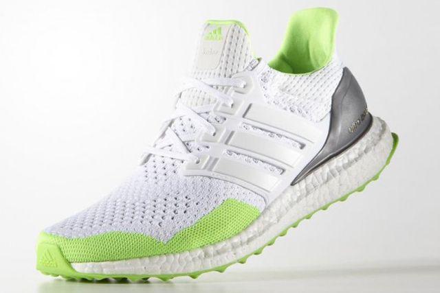 Kolor X Adidas Ultraboost Solar Green