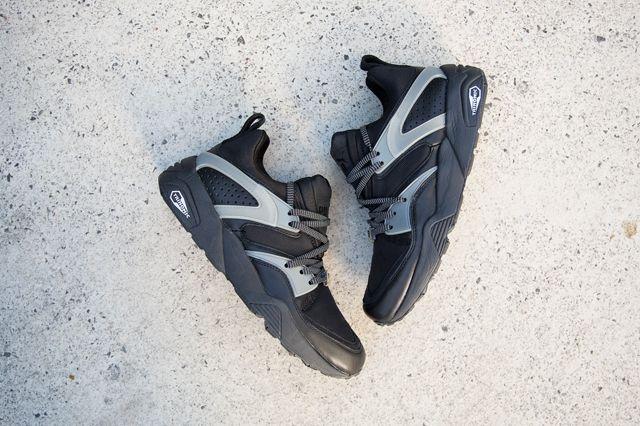 Puma Bog Black Grey 1