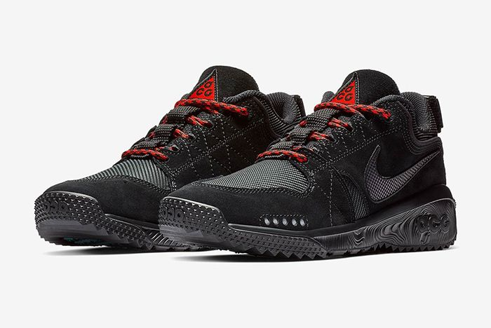 Nike Acg Dog Mountain Black Red 1