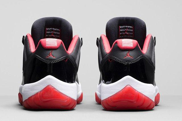Air Jordan 11 Low Bred Bumper 4