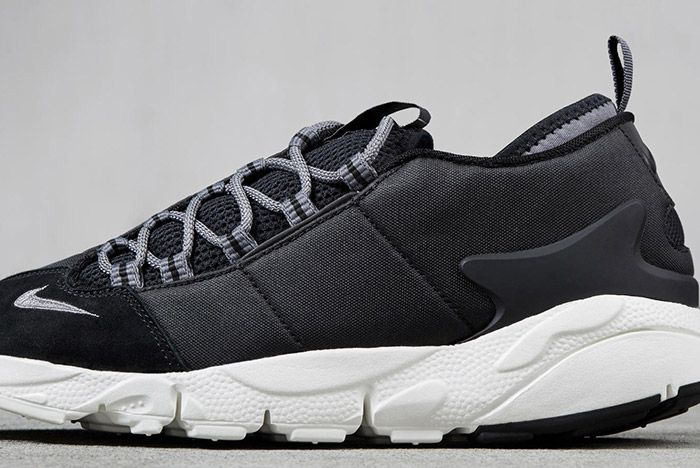 Nike Air Footscape Nm Black Suede 2