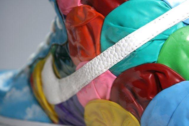 Red Ribbon Recon X Diversitile Dunk Heel