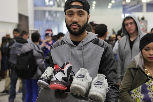 Sneaker Con New York 2012 Jordan Cement 1