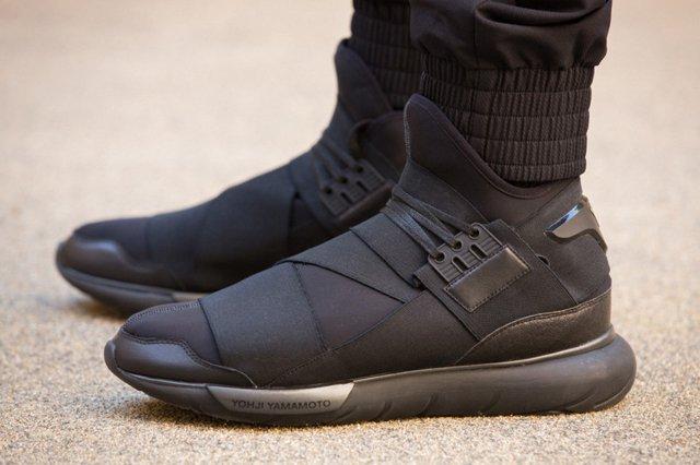 Adidas Y 3 Qasa High All Black 8