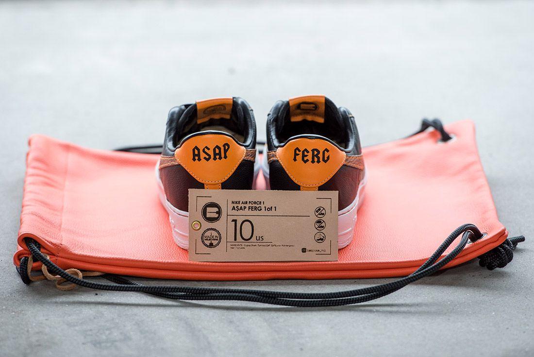 Bespoke Ind Aap Ferg Nike Air Force 1 Sneaker Freaker 8