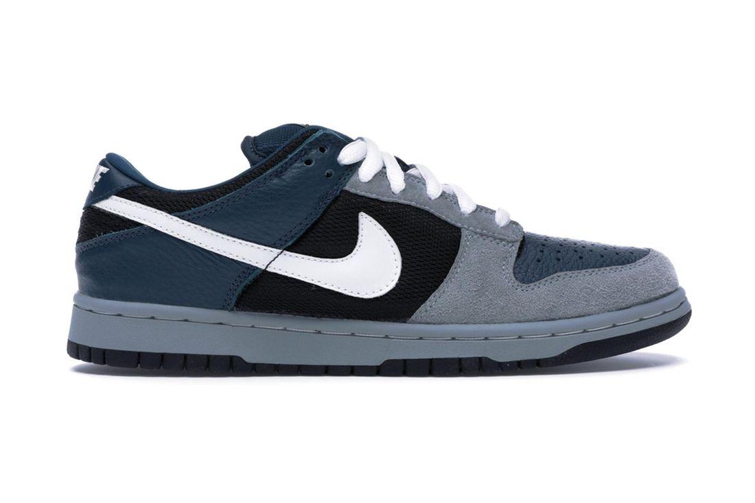 Futura Nike Sb Dunk Low 304292 013 Lateral