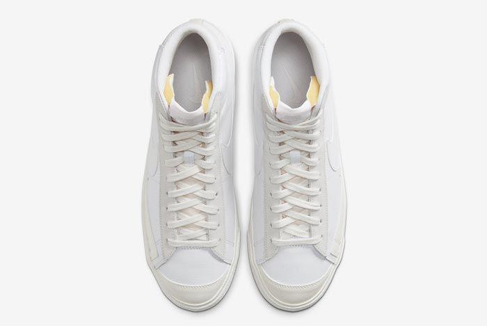 Nike Blazer Mid 77 Vintage Platinum Top