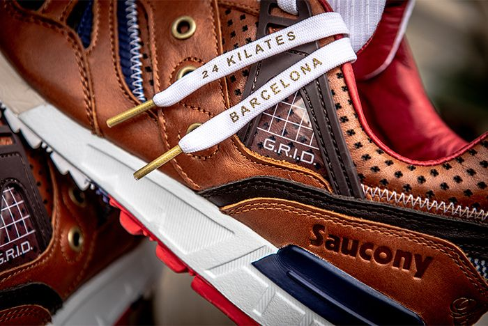 Saucony 24 Kilates Grid Sd La Victoria Laces