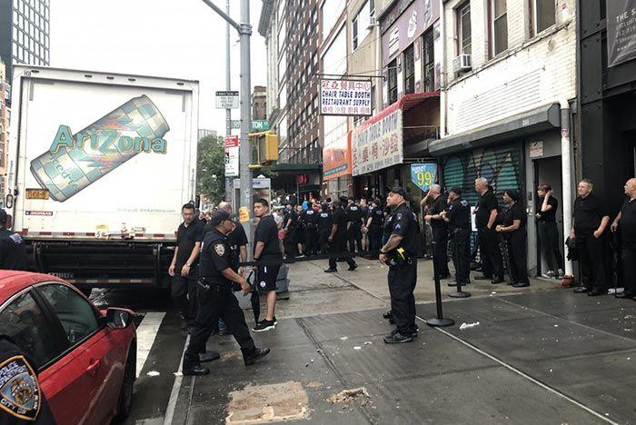 Police Shut Down Adidas Arizon Iced Tea Pop Up Truck