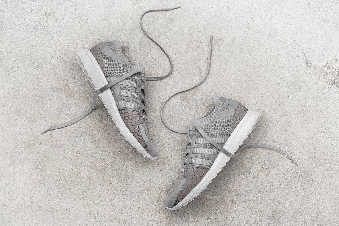 Pusha T Adidas Eqt Ultra Boost Pk Greyscale 8