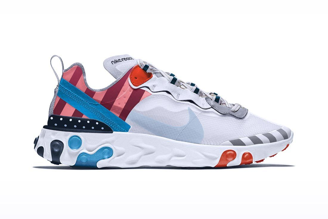 Nike Air Max Fusions Chad Manzo Parra Air Max 1 React Element 87