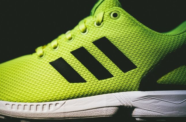 Adidas Zx Flux Electric Yellow 6